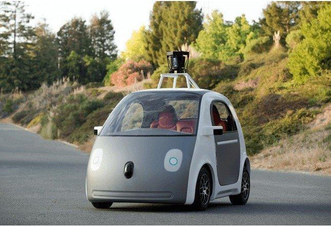 Prototipo original de vehículo de auto-conducción de Google