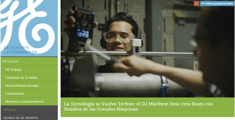 GE Reports Latinoamerica