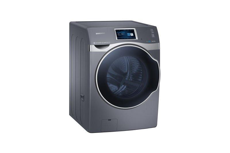 crystal blue nueva lavadora ecoamigable de samsung. Black Bedroom Furniture Sets. Home Design Ideas