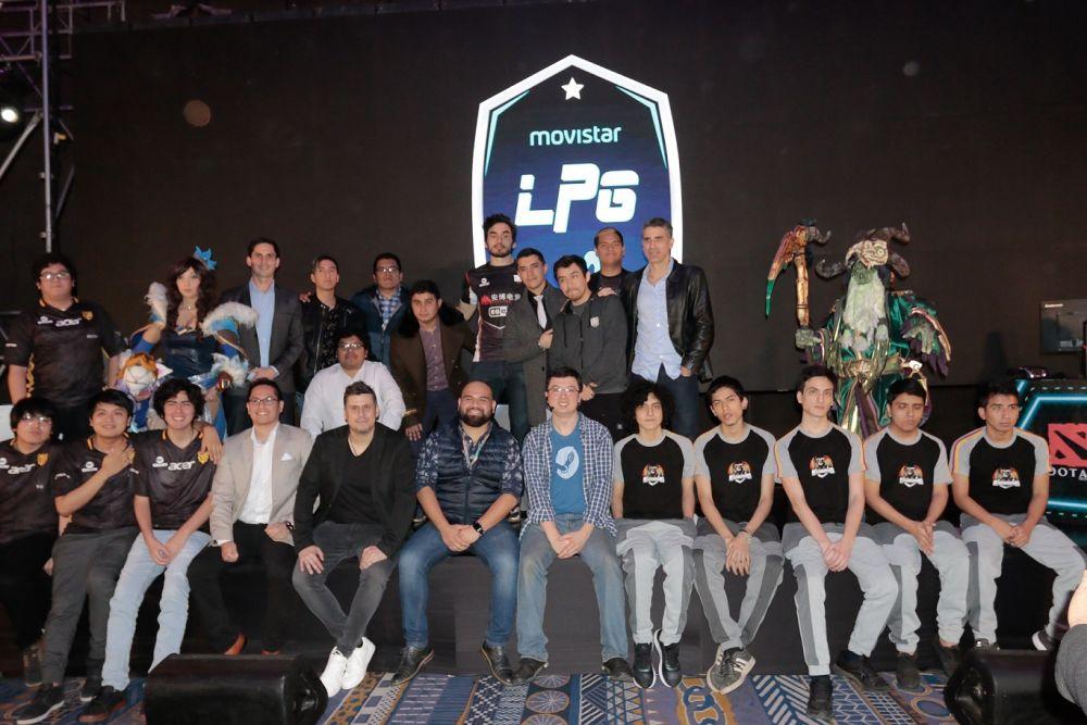 Fotos Movistar patrocinará la Liga Pro Gaming 1
