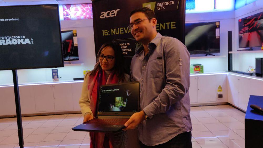 La poderosa Nitro 7 de Acer con NVIDIA® GeForce® GTX Serie 16 llega a Perú 1